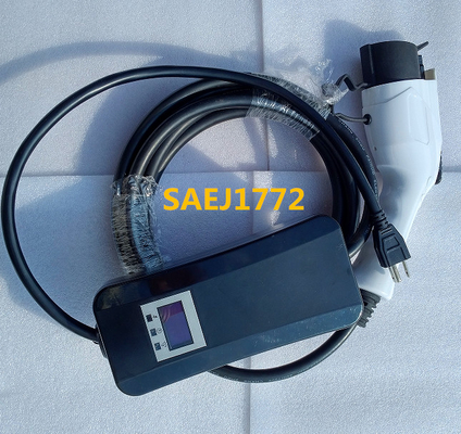 Chiny Type 1  SAEJ1772 charging plug Mode 240v ev charger 2 , level 2 fabryka